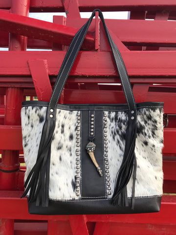 The Crowned Antler Tote Bag