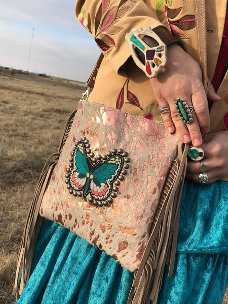 Acid Butterfly Crossbody