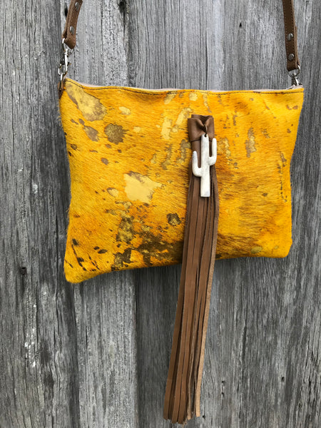 Golden Dust Stomper Crossbody