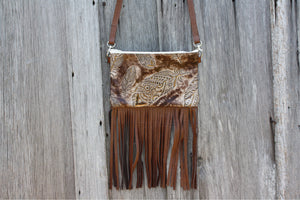 Falling Feathers Small Crossbody