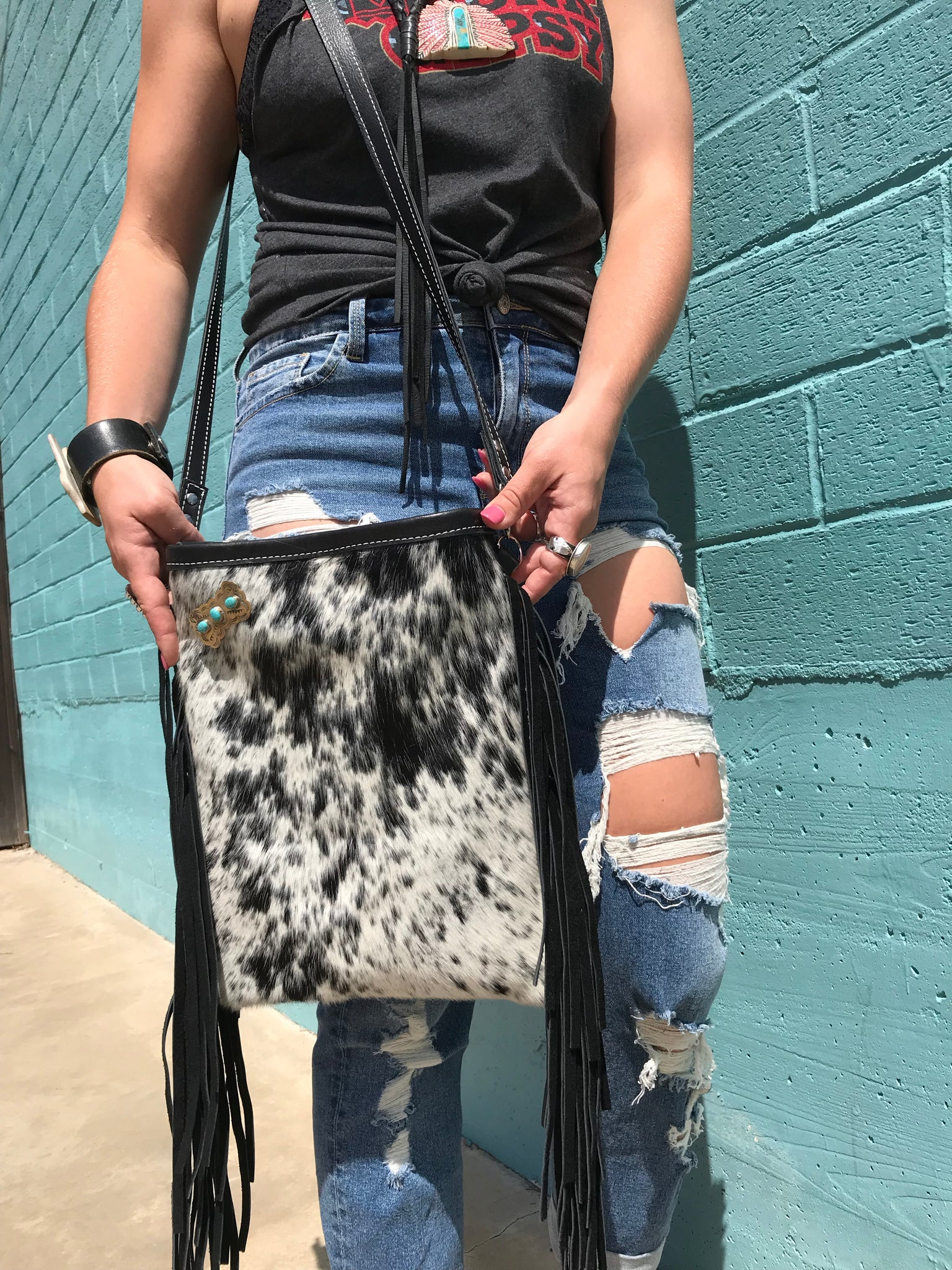 Turquoise Lover's Dream Crossbody