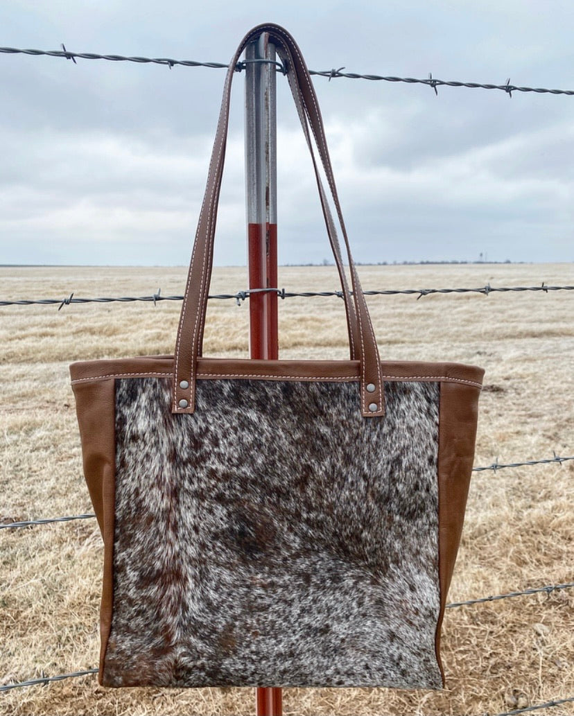 The Speckled Hide Tote Bag
