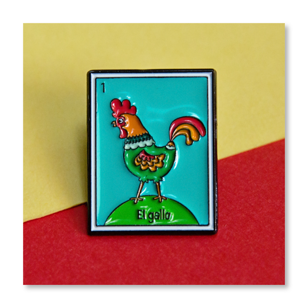 Loteria: Rooster Lil' Pin