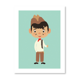 Lil' Cantinflas Print