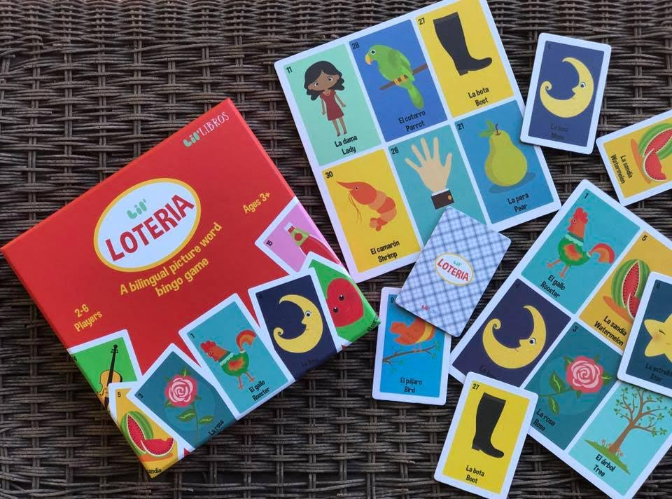 Lil' Loteria: A Bilingual Picture Word Bingo Game
