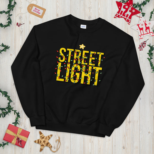 Streetlight Christmas Unisex Sweatshirt