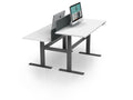 AK 2 Person Back to Back Electric Height Adjustable Workstation
