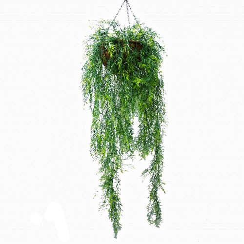 Mixed Vine Artificial Hanging Basket