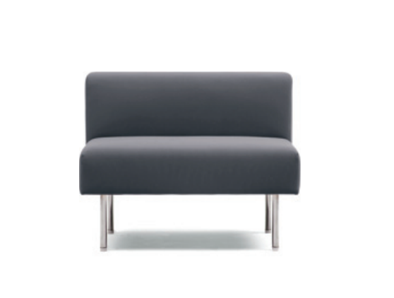 Square-series Low Back Sofa