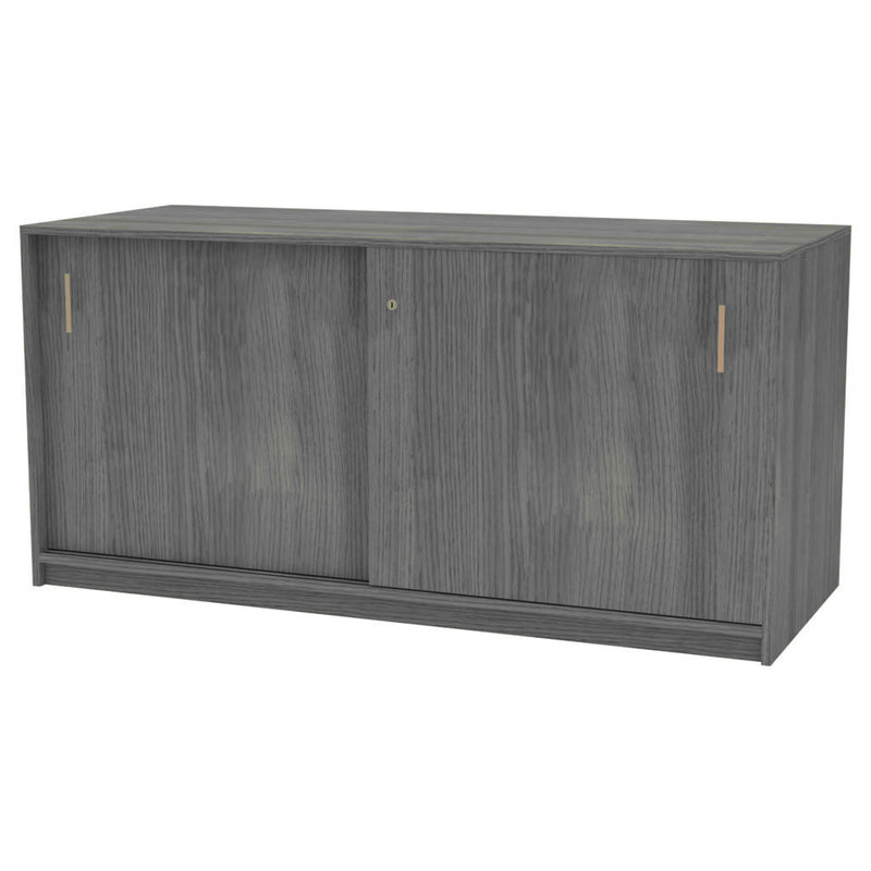 Sliding Door Credenza Unit 720mmH x 450mmD