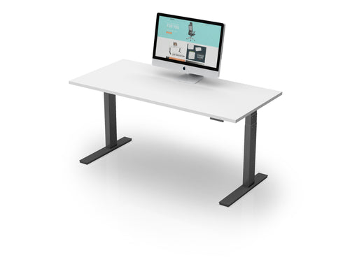 AK Electric Height Adjustable Straightline Desk