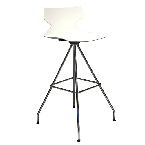 Fly 4 Leg Swivel Barstool