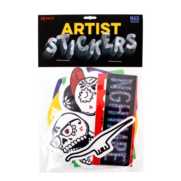 Artist Sticker 10-Pack