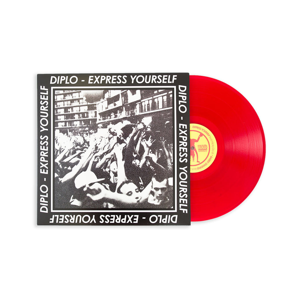 Diplo - 'Express Yourself' Double Vinyl Serato Set