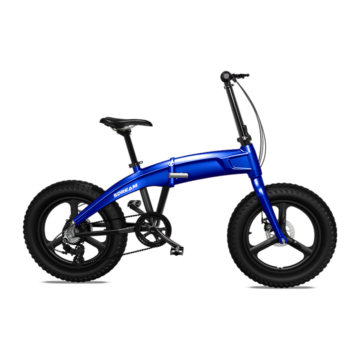 "X500 - Fat Tire Foldable Aluminum 20"" Electric Bike in 2 Colors"