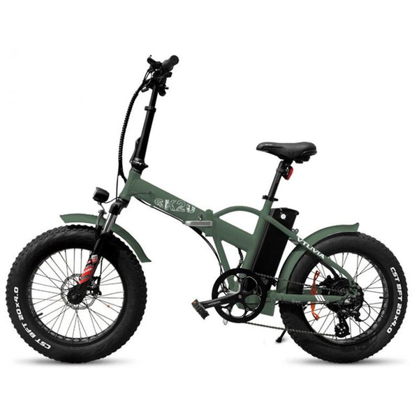 SK20 - 750 Watts Fat Tire Folding Aluminum Electric Bike in 2 Colors