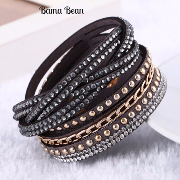 Multilayer Rivet Bracelet