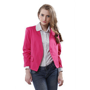 Candy Color Suit Coat