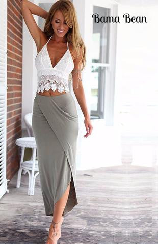 Slim Two Piece Skirt