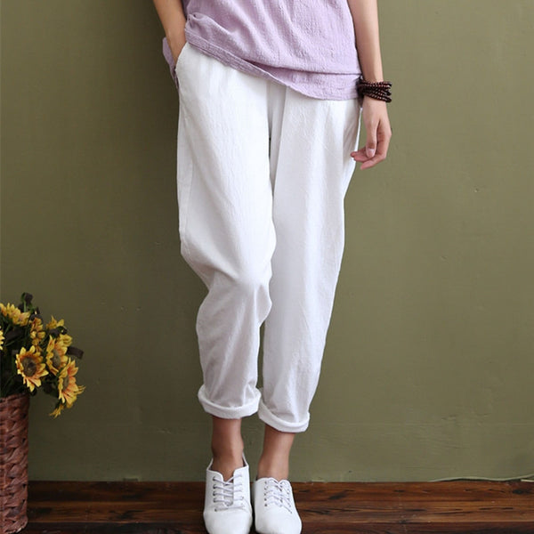 Loose Casual Summer Harem Pants