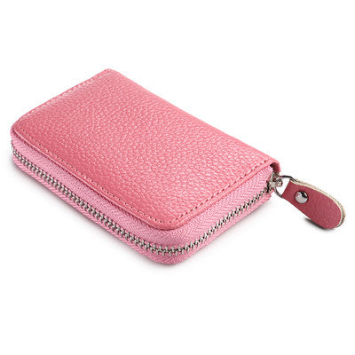 Zipper Credit Card Holder
