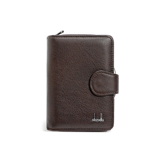 Leather Coin Card Holder
