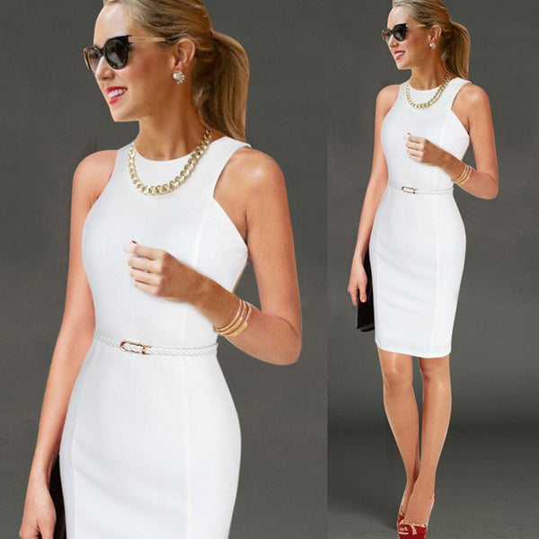 Slim Fitted Pencil Dress
