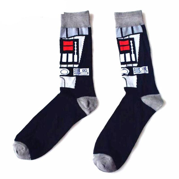 Star Wars character cotton socks