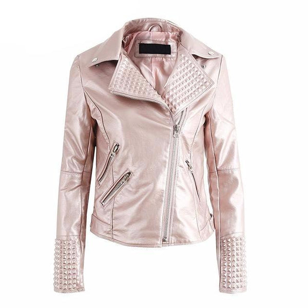 Punk rock cool motorcycle jacket/coat
