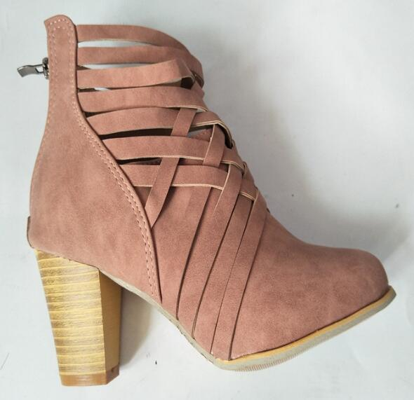 Gladiator ankle boots