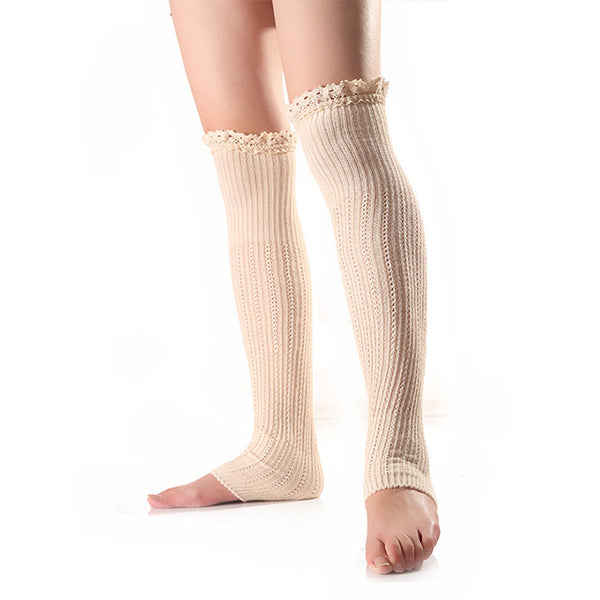 Above The Knees Knitted Leg Warmers