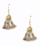 Serena Tassel Earrings