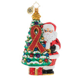 AIDS AWARENESS CHRISTMAS TREE
