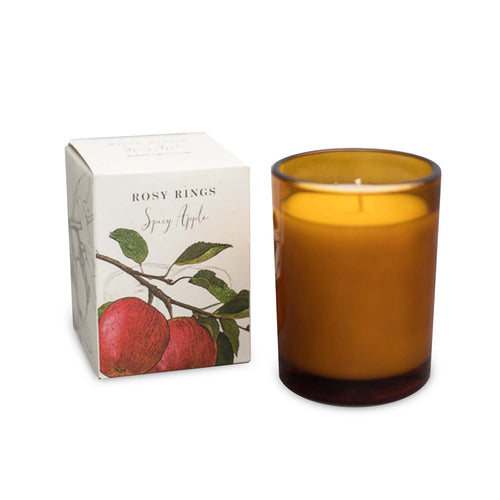 SPICY APPLE GLASS CANDLE