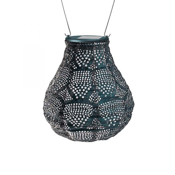 INK PUNCHED SOLAR DROP LANTERN