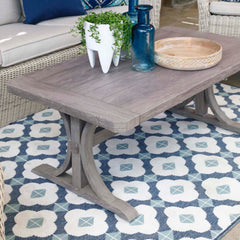 NEW HAMPTONS RECTANGLE COFFEE TABLE