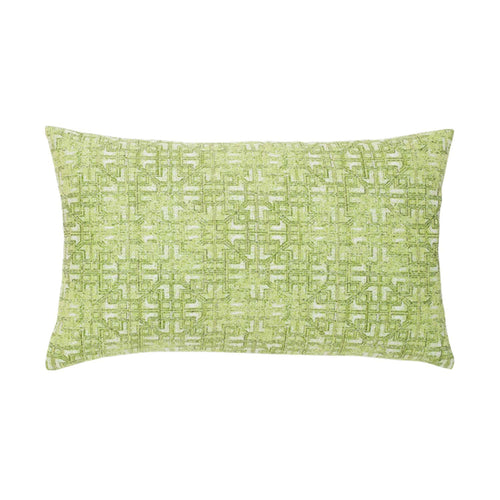 "12"" x 20"" Gate Greenery Outdoor Lumbar Pillow - Pre-Order Only"