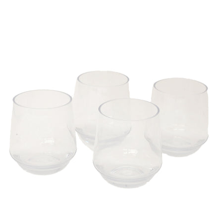6 Piece Imperial Clear 12 oz Tumbler Outdoor Acrylic Glassware Set