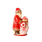 SANTA WITH SACK OF VALENTINE'S