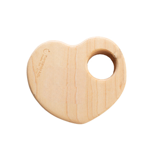 Wooden Heart Rattle
