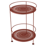 Guinguette Accent Table- Red Ochre
