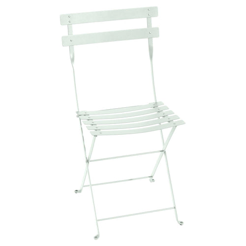 Folding Bistro Chair- Ice Mint