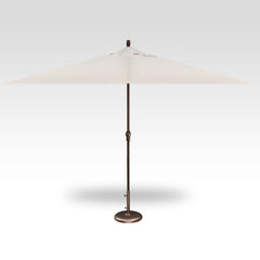 8FT X 11FT NON-TILT RECTANGLE UMBRELLA BRONZE FRAME WITH CANVAS TOP