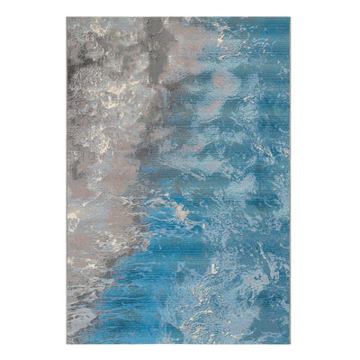 "4'10"" X 7'6"" Surf Ocean Outdoor Rug"