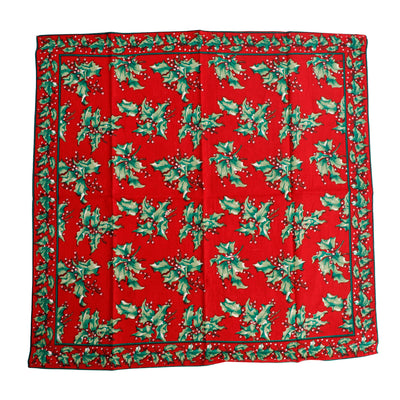 Holly Berry Square Tablecloth 54x54