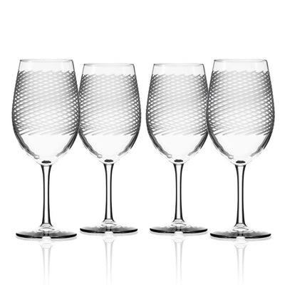 Cyclone Wine Glass Set