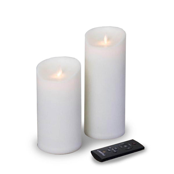 "8.5"" OUTDOOR MOVING PILLAR CANDLE"