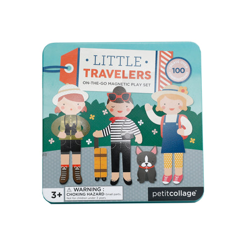 Little Travelers Mix & Match Magnetic Play Set