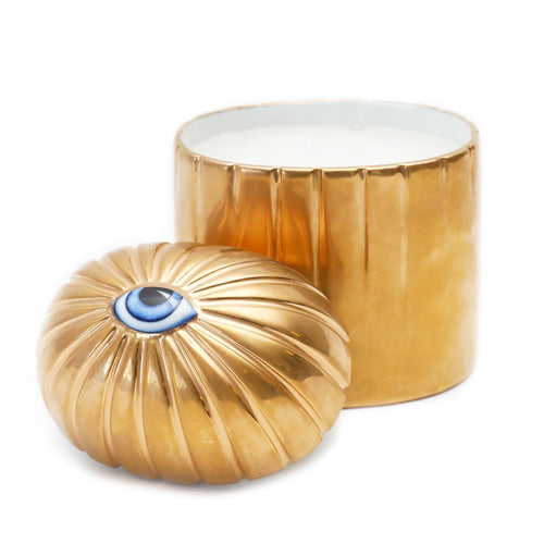LITO EYE GOLD CANDLE