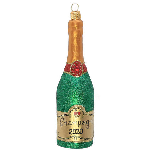 2020 CHAMPAGNE BOTTLE ORNAMENT